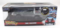 """Christopher Lloyd Signed """"Back to the Future II"""" DeLorian Time Machine 1:24 Scale Die-Cast Car (Beckett Hologram) at PristineAuction.com"""