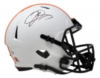 Odell Beckham Jr. Signed Browns Full-Size Lunar Eclipse Alternate Speed Helmet (Beckett COA) at PristineAuction.com
