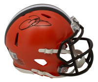 Odell Beckham Jr. Signed Browns Speed Mini Helmet (Beckett COA) at PristineAuction.com