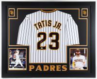 Fernando Tatis Jr. Signed 35x43 Custom Framed Jersey Display (JSA Hologram) at PristineAuction.com