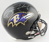 Joe Flacco & Ray Rice Signed Ravens Full-Size Helmet (JSA Hologram & Flacco Hologram) at PristineAuction.com