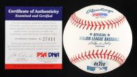 Frank Thomas Signed OML Baseball  (PSA COA) at PristineAuction.com