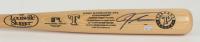 Josh Hamilton Signed LE Rangers Logo Louisville Slugger Baseball Bat with Career Stats Engraving (MLB Hologram) at PristineAuction.com