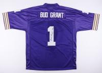 "Bud Grant Signed Vikings Jersey Inscribed ""HOF 94"" (JSA COA) at PristineAuction.com"