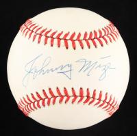 Johnny Mize Signed ONL Baseball (JSA COA) at PristineAuction.com