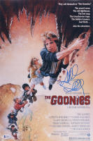"""Richard Donner Signed """"The Goonies"""" 12x18 Movie Poster (Beckett COA) at PristineAuction.com"""