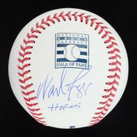 """Wade Boggs Signed OML Hall of Fame Baseball Inscribed """"HOF 05"""" (JSA COA) at PristineAuction.com"""