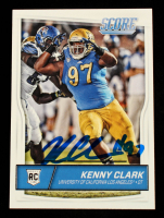 Kenny Clark Signed  2016 Score #392 RC (Beckett Hologram) at PristineAuction.com