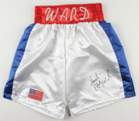 "Micky ""Irish"" Ward Signed Boxing Trunks (JSA COA) (See Description) at PristineAuction.com"