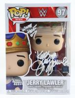 "Jerry ""The King"" Lawler Signed WWE #97 Funko Pop Vinyl Figure Inscribed ""WWE HOF 07"" (JSA COA) (See Description) at PristineAuction.com"