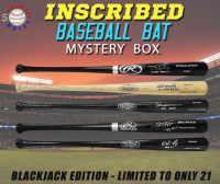 Schwartz Sports INSCRIBED & Signed Baseball Bat Mystery Box - (Blackjack Edition - Series 1) (Limited to ONLY 21!!)(ALL BATS ARE SIGNED & INSCRIBED!!!) at PristineAuction.com