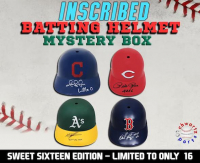 Schwartz Sports INSCRIBED & Signed Batting Helmet Mystery Box – (Sweet Sixteen Edition - Series 1) (Limited to ONLY 16!!) (ALL BATTING HELMETS ARE SIGNED & INSCRIBED!!) at PristineAuction.com