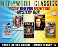 Schwartz Sports - Hollywood Classic Movies Signed 11x17 Movie Poster Mystery Box – (Sweet Sixteen Edition - Series 2) (Limited to ONLY 16!!) (NO DUPLICATES!!) at PristineAuction.com