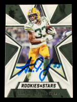Aaron Jones Signed 2020 Rookies and Stars #67 (Beckett Hologram) at PristineAuction.com