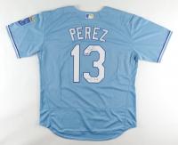 "Salvador Perez Signed Royals Jersey Inscribed ""Always Royal"" (JSA COA) at PristineAuction.com"