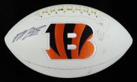 Joe Mixon Signed Bengals Logo Football (JSA COA) (See Description) at PristineAuction.com