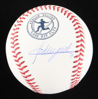 Adrian Beltre Signed OML 3000 Hit Club Logo Baseball (JSA COA) at PristineAuction.com
