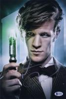 "Matt Smith Signed ""Dr. Who"" 8x12 Photo (Beckett Hologram) at PristineAuction.com"
