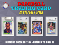 Schwartz Sports - Baseball Encapsulated Trading Card Signed Mystery Box - (Diamond Dozen Edition - Series 1) (Limited to ONLY 12!!) (ALL CARDS ARE PSA or BECKETT Encapsulated) at PristineAuction.com