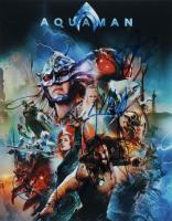 """Aquaman"" 11x14 Photo Cast-Signed by (5) with Jason Momoa, Amber Heard, Patrick Wilson & Yahya Abdul-Mateen II (ACOA LOA) at PristineAuction.com"