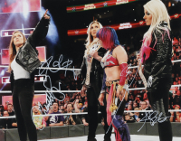 WWE Royal Rumble 11x14 Photo Signed by (4) with Ronda Rousey, Charlotte Flair, Alexa Bliss & Asuka (ACOA Hologram) at PristineAuction.com