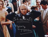 "James Tolkan Signed ""Back to The Future"" 11x14 Photo Inscribed ""Slacker!"" (AutographCOA COA) at PristineAuction.com"