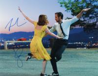 """Emma Stone & Ryan Gosling Signed """"La La Land"""" 11x14 Photo (ACOA Hologram) at PristineAuction.com"""