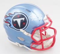 Ryan Tannehill Signed Titans Flash Alternate Speed Mini Helmet (Beckett Hologram) at PristineAuction.com