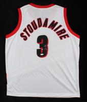 Damon Stoudamire Signed Jersey (JSA COA) at PristineAuction.com