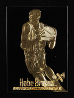 Kobe Bryant 1998 Skybox E-X 2000 Black 23KT Gold Card at PristineAuction.com