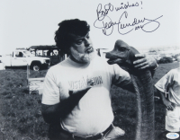 """Dean Cundey Signed """"Jurassic Park"""" 11x14 Photo Inscribed """"Best Wishes!"""" & """"ASC"""" (AutographCOA COA) at PristineAuction.com"""
