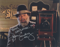 """Dean Cundey Signed """"Back To The Future III"""" 11x14 Photo Inscribed """"Ready Gentleman...?"""" & """"ASC"""" (AutographCOA COA) at PristineAuction.com"""