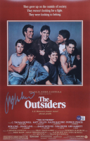 """Ralph Macchio Signed """"The Outsiders"""" 11x17 Movie Poster (Beckett COA) at PristineAuction.com"""