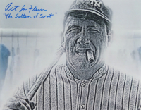 """Art LaFleur Signed """"The Sandlot"""" 11x14 Photo Inscribed """"The Sultan of Swat"""" (ACOA COA) at PristineAuction.com"""