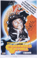 """Malcolm McDowell Signed """"A Clockwork Orange"""" 11x17 Movie Poster (Beckett COA) at PristineAuction.com"""