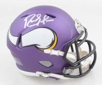 Randy Moss Signed Vikings Speed Mini Helmet (JSA COA) at PristineAuction.com