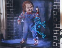 """Ed Gale Signed """"Child's Play"""" 11x14 Photo Inscribed """"As Chucky"""" (AutographCOA COA) at PristineAuction.com"""