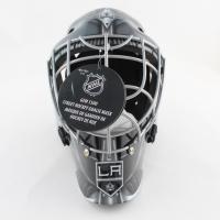 Jonathan Quick Signed Kings Full-Size Goalie Mask (Fanatics Hologram) (See Description) at PristineAuction.com