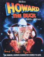 """Ed Gale Signed """"Howard the Duck"""" 11x14 Photo Inscribed """"Howard T. Duck"""" (ACOA COA) at PristineAuction.com"""