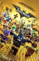 """The Lego Batman Movie"" 11x17 Photo Cast-Signed by (9) with Rosario Dawson, Chris McKay, Kate Micucci, Doug Benson, Ralph Garman (Beckett LOA) at PristineAuction.com"