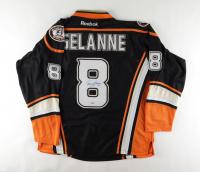 Teemu Selanne Signed Ducks Jersey (PSA Hologram) at PristineAuction.com