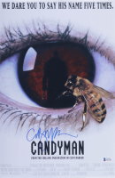 """Clive Barker Signed """"Candyman"""" 11x17 Movie Poster (Beckett COA) at PristineAuction.com"""