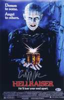 """Clive Barker Signed """"Hellraiser"""" 11x17 Movie Poster (Beckett COA) at PristineAuction.com"""