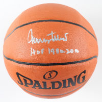 """Jerry West Signed NBA Silver Series Basketball Inscribed """"HOF 1980-2010"""" (PSA COA) at PristineAuction.com"""
