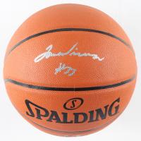 James Wiseman Signed NBA Silver Series Basketball (Beckett COA) at PristineAuction.com