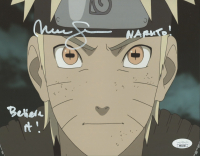 """Maile Flanagan Signed """"Naruto"""" 8x10 Photo Inscribed """"Naruto"""" & """"Believe it!"""" (JSA COA) at PristineAuction.com"""