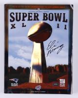 Eli Manning Signed Super Bowl XLII Official Game Program (Radtke COA) at PristineAuction.com