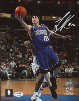 Mike Bibby Signed Kings 8x10 Photo (PSA COA) at PristineAuction.com