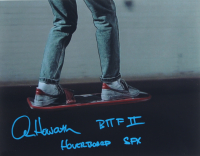 """Alan Howarth Signed """"Back to The Future II"""" 11x14 Photo Inscribed """"BTTF II Hoverboard SFX"""" (AutographCOA COA) at PristineAuction.com"""