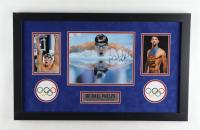 Michael Phelps Signed Team USA 16x26 Custom Framed Photo Display (PSA Hologram) at PristineAuction.com